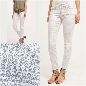 ⚡️Just in⚡️Pilcro Stet Moroccan Print Jeans